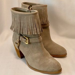 Ralph Lauren Tan Ankle Boots